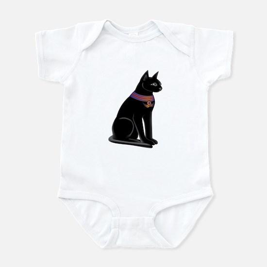 Egyptian Cat Goddess Bastet Infant Bodysuit