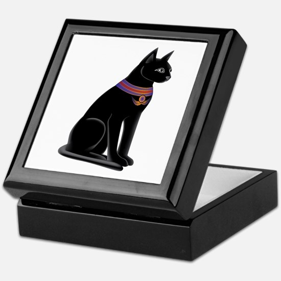Egyptian Cat Goddess Bastet Keepsake Box