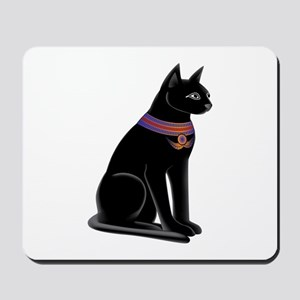 Egyptian Cat Goddess Bastet Mousepad