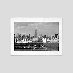New York Pro Photo 5'x7'Area Rug