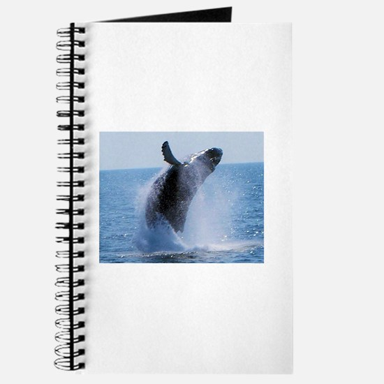 whale jumping Journal