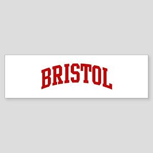 BRISTOL (red) Bumper Sticker