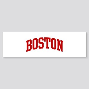 BOSTON (red) Bumper Sticker