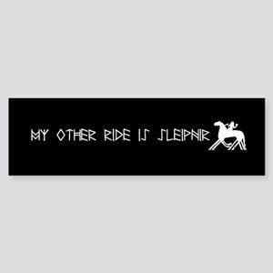 My Other Ride Is Sleipnir Sticker Bumper Sticker
