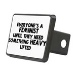 Feminist Rectangular Hitch Cover