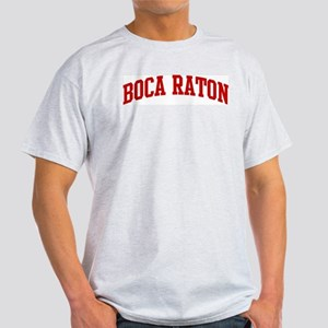 BOCA RATON (red) Light T-Shirt