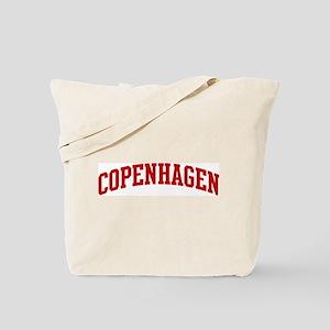 COPENHAGEN (red) Tote Bag