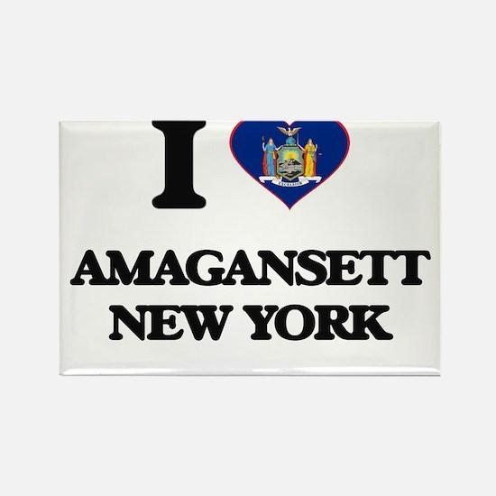 I love Amagansett New York Magnets