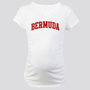 BERMUDA (red) Maternity T-Shirt