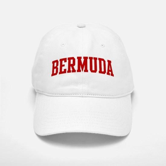 BERMUDA (red) Baseball Baseball Cap