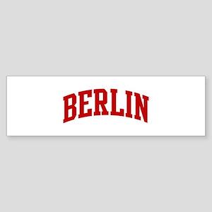 BERLIN (red) Bumper Sticker