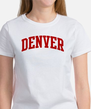 DENVER (red) Women's T-Shirt