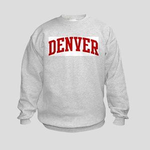 DENVER (red) Kids Sweatshirt