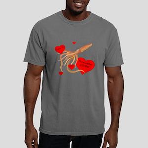 Personalized Squid Mens Comfort Colors Shirt