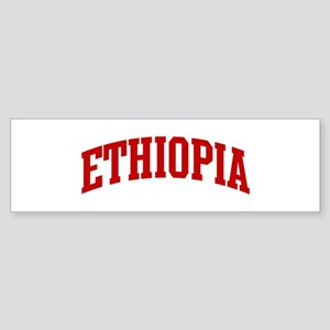 ETHIOPIA (red) Bumper Sticker