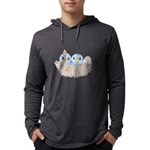 Baby Bird Mens Hooded Shirt