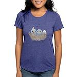 Baby Bird Womens Tri-blend T-Shirt