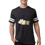 Sleeping Mouse Mens Football Shirt