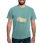 Sleeping Mouse Mens Comfort Colors Shirt