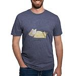 Sleeping Mouse Mens Tri-blend T-Shirt