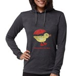 Personalized Duck Womens Hooded Shirt