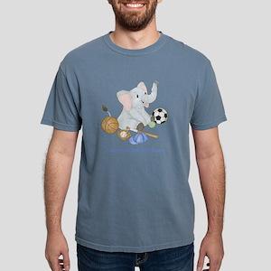 Personalized Sports - Elephant Mens Comfort Colors