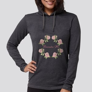 Personalized Rose Womens Hooded Shirt