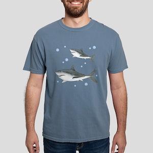 Shark Mens Comfort Colors Shirt
