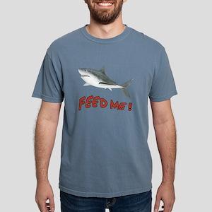 Feed Me - Shark Mens Comfort Colors Shirt