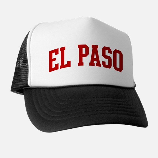 EL PASO (red) Trucker Hat