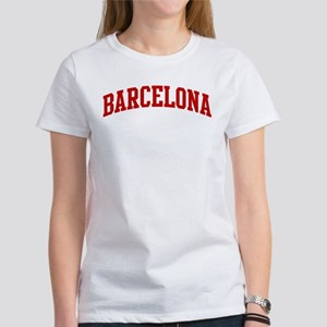 BARCELONA (red) Women's T-Shirt