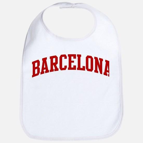 BARCELONA (red) Bib