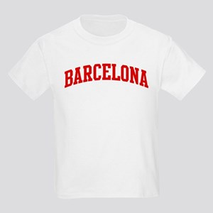 BARCELONA (red) Kids Light T-Shirt