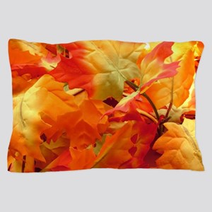 Bright fall leaves Pillow Case