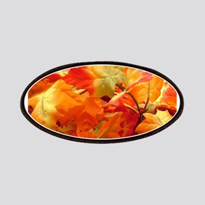 Bright fall leaves Patch