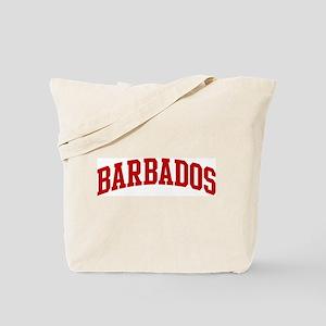 BARBADOS (red) Tote Bag
