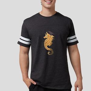 Graduation Seahorse Mens Football Shirt