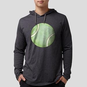 Tennis Ball Mens Hooded Shirt