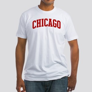 CHICAGO (red) Fitted T-Shirt