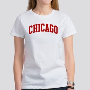 CHICAGO (red) Women's T-Shirt