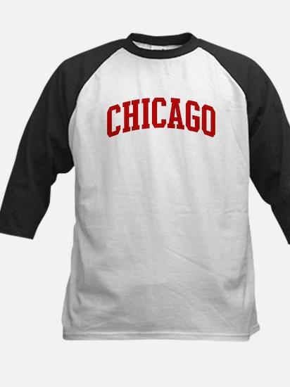 CHICAGO (red) Kids Baseball Jersey