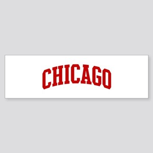 CHICAGO (red) Bumper Sticker