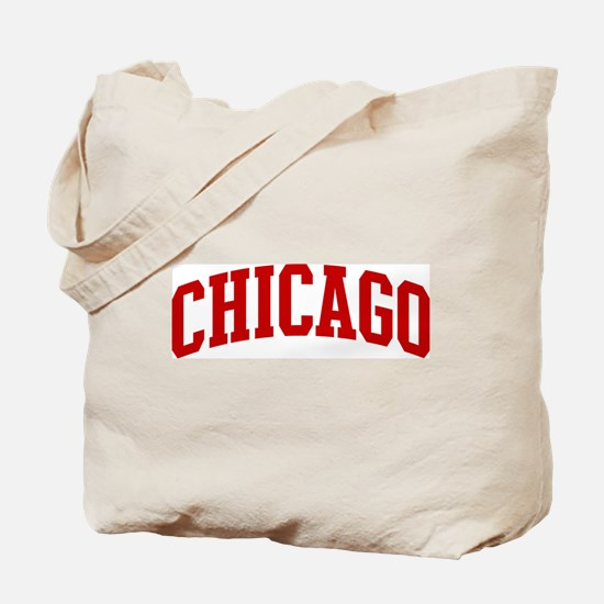 CHICAGO (red) Tote Bag