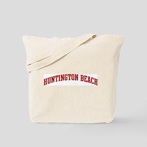 HUNTINGTON BEACH (red) Tote Bag