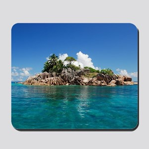 Tropical Island Mousepad