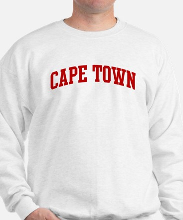 CAPE TOWN (red) Sweatshirt