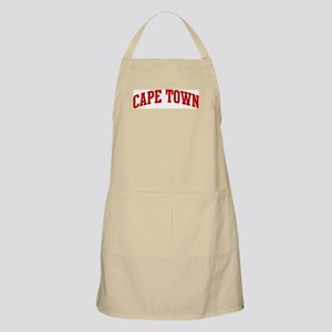 CAPE TOWN (red) BBQ Apron