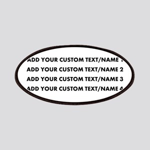 Add Custom Text/Name Patch