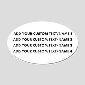Add Custom Text/Name Wall Decal
