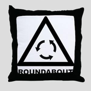 Roundabout Throw Pillow